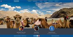 Website Design for Windhorse Expeditions, Ladakh