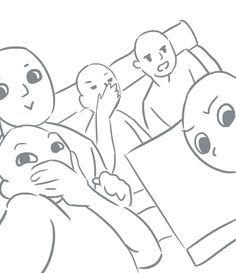 "Yams on Twitter: ""I made us into a draw your squad meme @sigfart ..."
