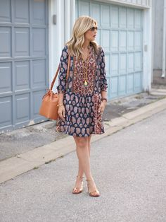 This is the perfect fall dress.