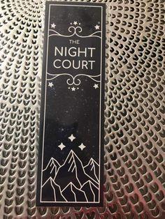 Night Court bookmark