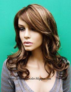 Hair Color Ideas Highlights | Auburn Hair Color,Medium auburn brown: Light Auburn Red Hair