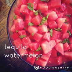 tequila + watermelon = pure awesomeness How to make the most amazing tequila-soaked watermelon! Tequila Soaked Watermelon, Spiked Watermelon, Watermelon Recipes, Fruit Recipes, Cooking Recipes, Watermelon Alcohol, Picnic Recipes, Picnic Ideas, Gastronomia