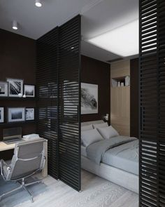 99 Casual Room Divider Ideas To Create Flexibility is part of Ikea room divider - For those who have a small home, or live in a studio apartment, one of the best and easiest methods […] Deco Studio, Studio Room, Studio Living, Home Studio, Ikea Room Divider, Room Divider Ideas Bedroom, Small Room Divider, Living Room Divider, Living Room Partition