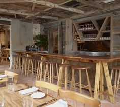 Isa - Williamsburg, Brooklyn. This restaurant is right around the corner from us - amazing food, go there now!
