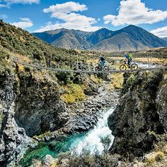 Braving the 16-hour flight from Los Angeles to New Zealand is easy. The hard part? Sorting through the overwhelming number of possibilities crammed into these two islands. Thats why were here with 13 must-do adventures for your Kiwi checklist. Pictured here: Pedaling Nga Haerenga. Photo: Tim Winterburn/H&I Adventures | Full article @ OutsideOnline.com by outsidemagazine