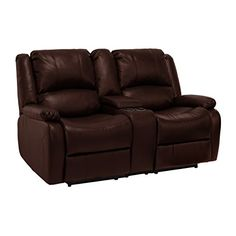 Home Decorators Collection | RecPro Charles 67 Double RV Zero Wall Hugger Recliner Sofa w Console Mahogany ** Be sure to check out this awesome product. Note:It is Affiliate Link to Amazon.