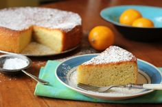 Lemon, Almond Flour and Olive Oil Cake
