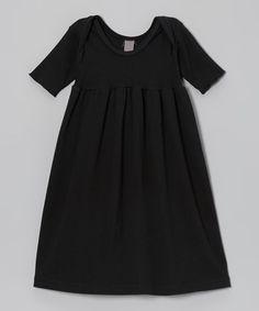 Loving this LIFE Clothing Co. Asphalt Babydoll Dress - Infant on #zulily! #zulilyfinds