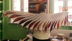 Wełnomaniaczka: Chusta - wymarzony ptak