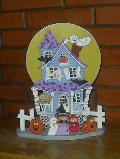 casita de halloween