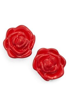 kate spade new york 'rosy outlook' stud earrings available at #Nordstrom