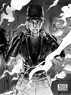 Sonya Blade by flavioluccisano on DeviantArt Mortal Kombat Games, Mortal Kombat Art, Sonya Blade, Johnny Cage, Video Game Anime, Warrior Queen, Fighting Games, Heroes Of Olympus, Fantasy Inspiration