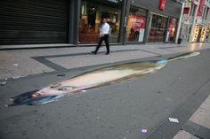 Street Art : Les incroyables fresques en trompe l'oeil de Julian Beever