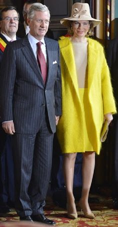 King Philippe and Queen Mathilde of Belgium visited province of Liege.