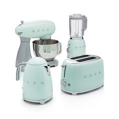 Free Shipping.  Shop Smeg Pastel Green 2-Slice Retro Toaster.  Known for their wonderfully retro refrigerators, Smeg has launched a joyfully designed retro kitchen appliance collection based on the curved and compact lines of postwar design.