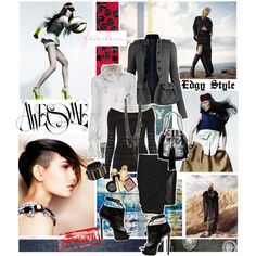 Edgy Style - Polyvore