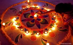 Diwali. The festival of lights celebrated in india