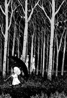 manga mangacap monochrome totsukuni no shoujo nagabe 死
