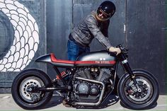 From PuzzleGarage. Saved for style ideas - Like the paint stripe aligned with the seat...