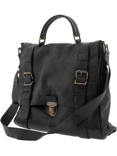 this might be my next -- lovely Heritage leather book bag from Banana Republic