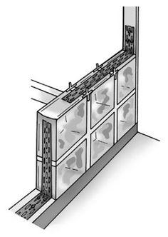 Shower Enclosure Kit, Shower Kits, Shower Ideas, Glass Block Installation, Steam Shower Units, Glass Block Shower, Glass Blocks Wall, Loft Style Homes, Shower Pan