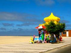 The cutest beach shop in Foz do Arelho.