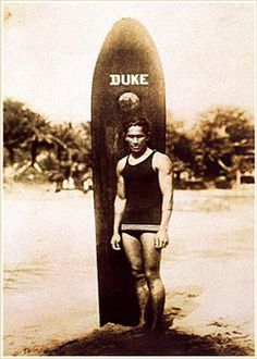 Duke Kahanamoku helped bring about the resurrection of #surfing culture in #Hawaii...
