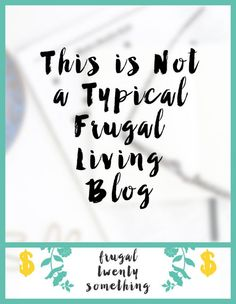 Hello there!  Welcome!  This is my first ever post for Frugal Twenty Something. :) First off, I've been in love with frugal mom blogs since a few years ago when I started using Pinterest. Whi…