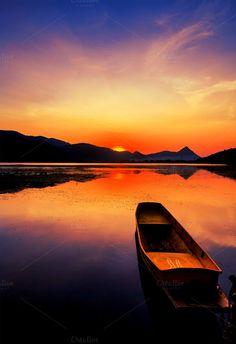 Sunrise by Pushish Images on @creativemarket