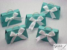 Papel mini favor cajas monedero del bolso de papel caja por Gvites