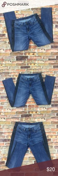 Rock & Republic Berlin Jeans 10M Inseam 30in.  98% cotton 2% spandex Rock & Republic Jeans