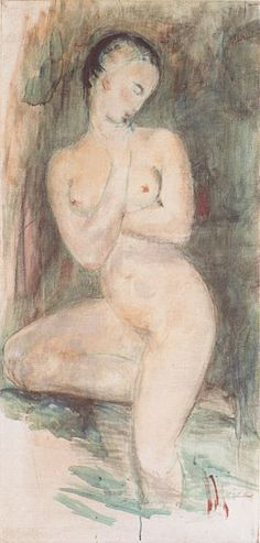 Wilhelm Lehmbruck - Badende - 1913 #Lehmbruck #painting Museum, Canadian Artists, Art World, Artsy Fartsy, Fine Art, Expressionism, Nudes, Figurative, Art Art