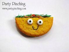 Easy taco cookies