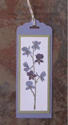 Flowery Bookmark