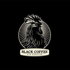 A Classic looking Black & Cream logo.