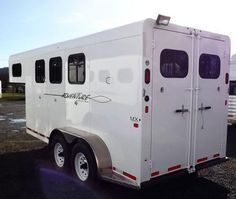 NEW Trails West Horse Trailer for Sale - Horse Trailers Galore