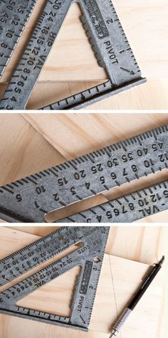 """How to Use a Speed Square(MAN OR WOMAN,DON'T MATTER,UNLESS YOUR NICKNAME IS """"LEFTY""""... THEN I DON'T WANT YOU AROUND ME ! DB. 04/30/2015) #woodworkingtools"""