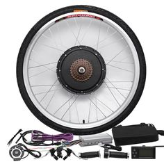 "SOLOMONE CAVALLI 26"" Wheel Electric Bicycle LCD Display Motor 48V 1000W E-Bike Conversion Kit"