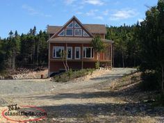 Cabin for sale Cabins For Sale, Find A Job, Newfoundland, Real Estate, Boat, House Styles, Home Decor, Dinghy, Decoration Home