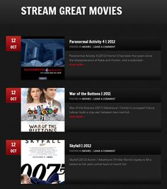 Watch all the latest Blockbuster on STREAMGREATMOVIES.com in HD FOR FREE
