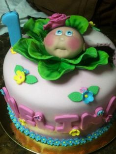Cabbage Patch Kid cake !!