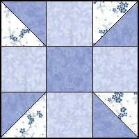 Calico Puzzle quilt block--Quilts To Be Stitched - 3 patch quilt patterns Quilting For Beginners, Quilting Tutorials, Quilting Projects, Quilting Designs, Quilting Tips, Quilt Block Patterns, Pattern Blocks, Quilt Blocks, Puzzle Quilt