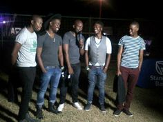 The Muffinz, seen here after performing