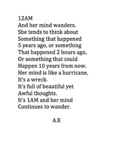wandering minds
