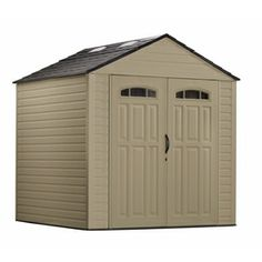 Rubbermaid Roughneck 7-ft x 7-ft Gable Storage Shed (Actuals 7.25-ft x 7.2 Feet) $747