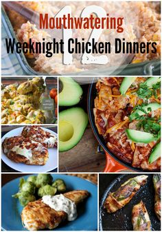12 Mouthwatering Weeknight Chicken Dinners