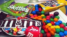 New M&M'S! A Lot Of Candy And Toys