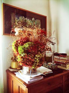 Home interior, Autumn, casa
