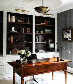 Interior Design Images, Office Interior Design, Home Office Decor, Office Interiors, Home Design, Office Ideas, Cozy Office, Office Inspo, Modern Interiors