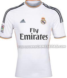 Real Madrid, Home Kit (Adidas, 2013/2014)